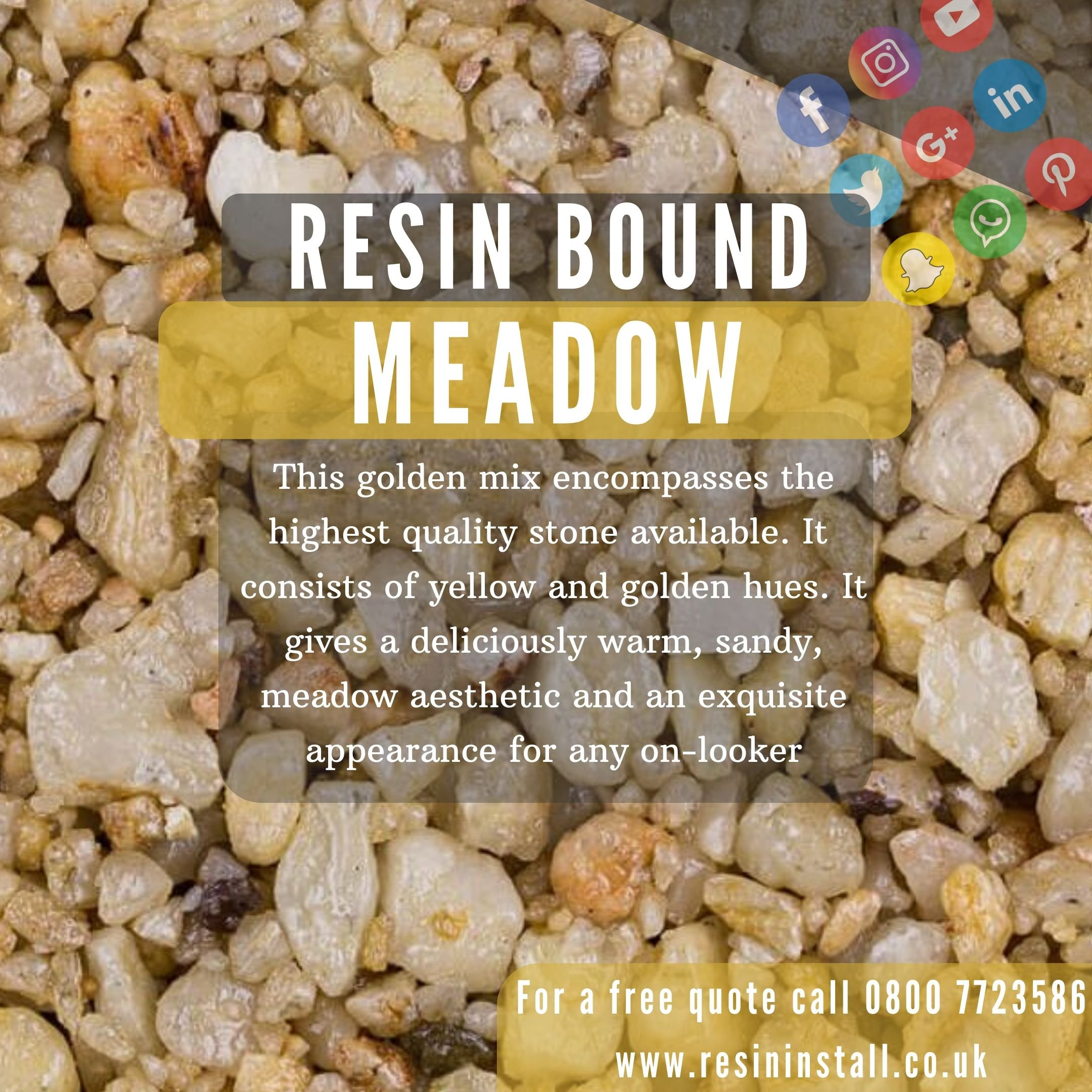 Meadow-resin-bound