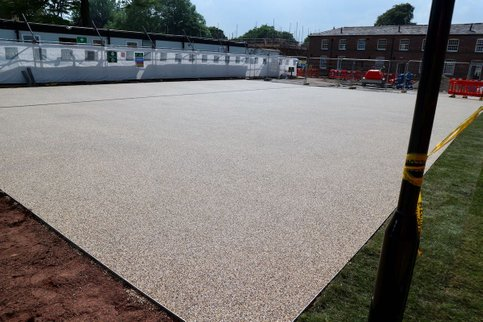 resin bound gravel car park
