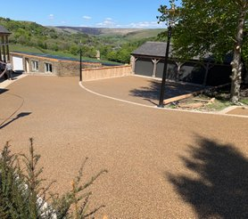 Resin Install golden driveway oldham manchester