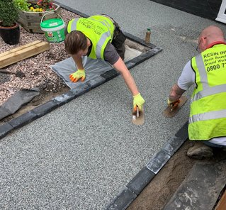 Commercial resin bound paving 1